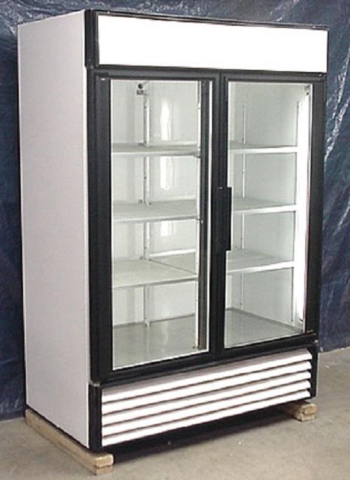 Used Two Glass Door Cooler