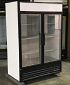 Refurbished Two Glass Door Freezer LED Lights