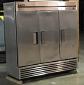 Used Stainless Steel Three Door Freezer