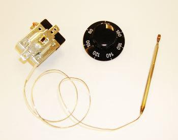 CONTROL, TEMP WARMING CAB Selco # CAP-75-174 with knob