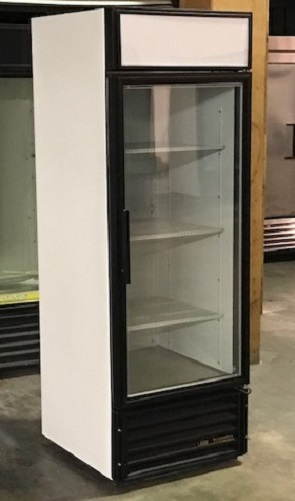 Refurbished Single Glass Door Freezer LED Lighting