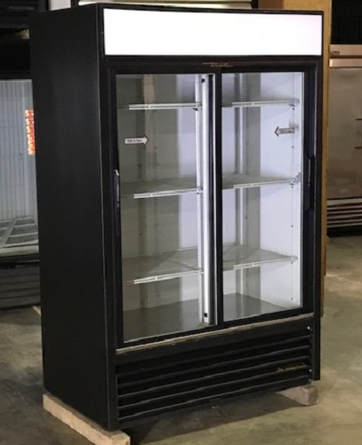 Refurbished Two Slide Glass Door Cooler