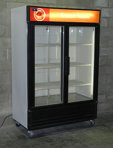 Used Two Door Display Freezer