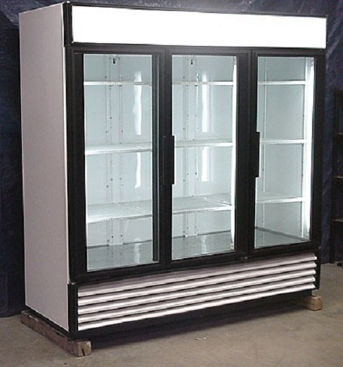 Used Three Door Freezer
